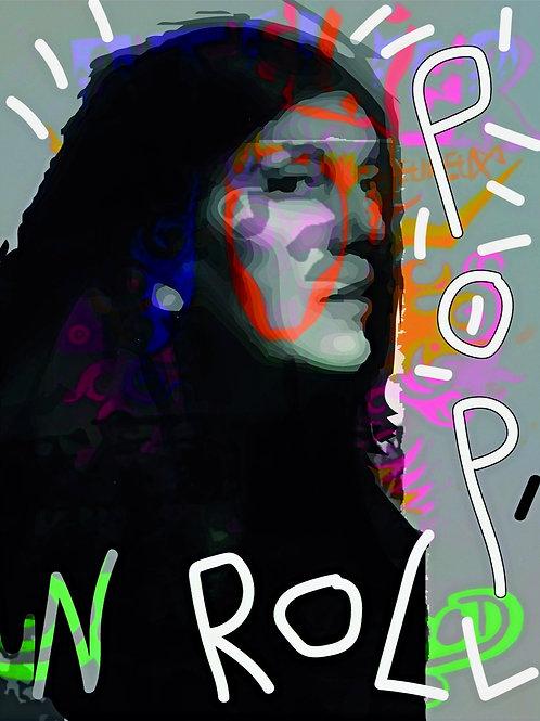 """""""Mona Pop Art"""" 70x50cm"""
