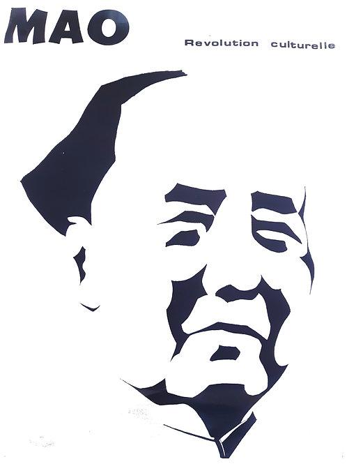 Affiche originale anonyme - MAO - La révolution culturelle