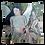 """Thumbnail: Coussin """"LA NYMPHE"""" 45x45cm"""