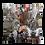 "Thumbnail: Coussin ""INDIAN SPIRIT"" 45x45cm"