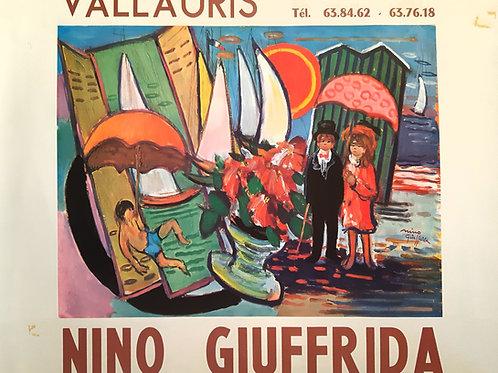 Affiche originale NINO GIUFFRIDA