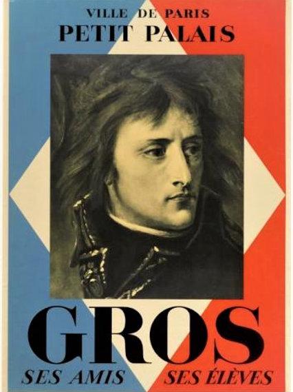 """Affiche originale """"GROS"""" Petit Palais Paris"""