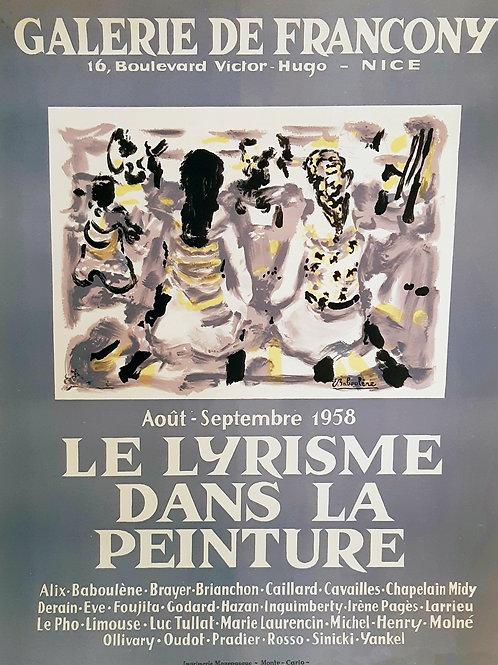 Affiche originale - Eugène Baboulène -