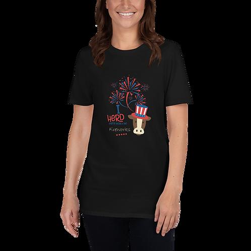 I Herd - Fireworks Adult T-Shirt
