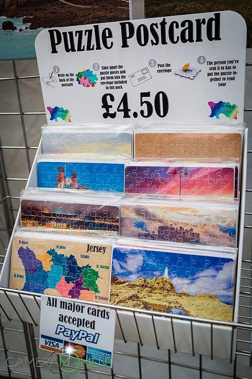 A5 Puzzle Postcards