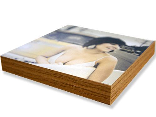 Photo Mounted Oak effect Blocks