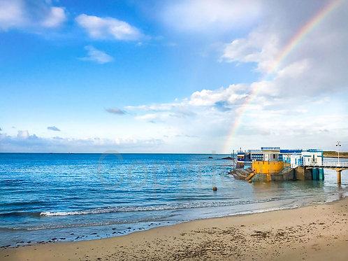 Rainbow at Harve Des Pas