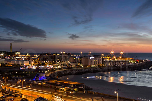 St Helier at Night