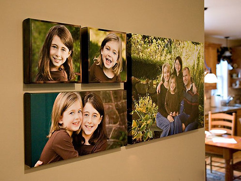 Personalised Canvas Montage