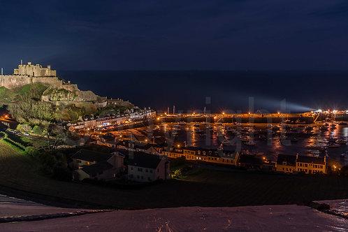 Gorey Harbour at Night