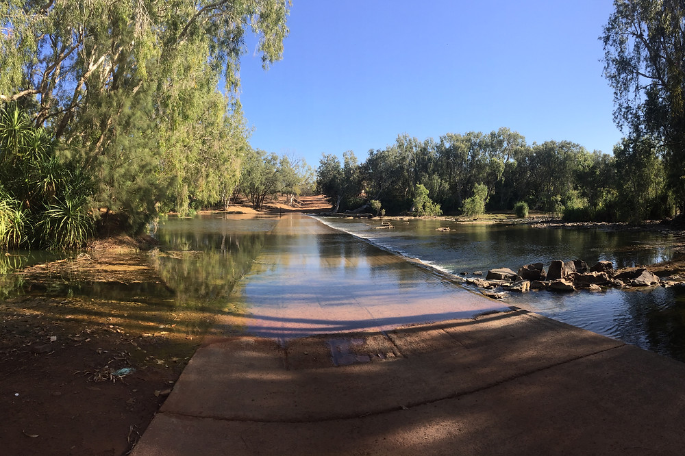 Another glorious river crossing in Australia's top end