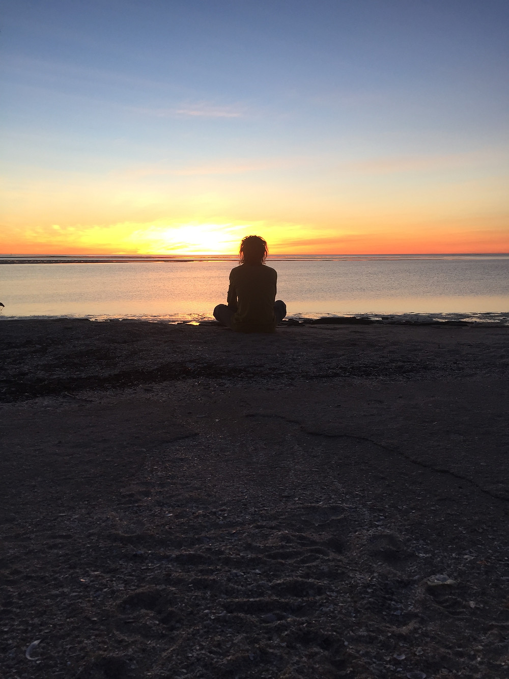 Glorious Gulf Sunset from Sunset Point Karumba