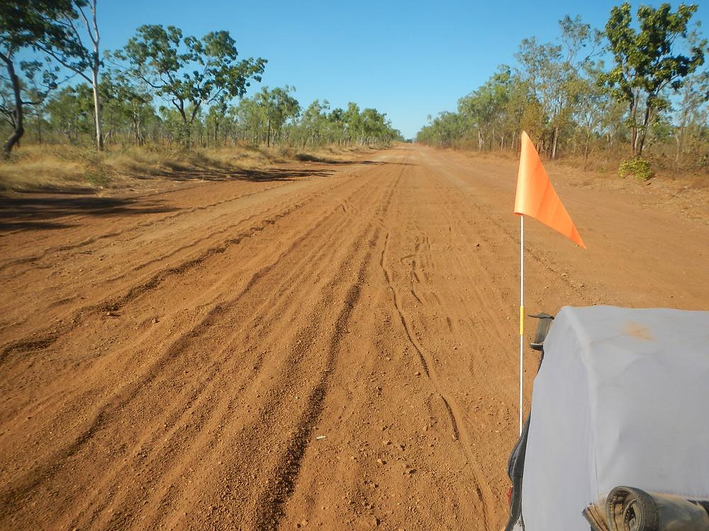 Wollgorang Road NT and its corrugations