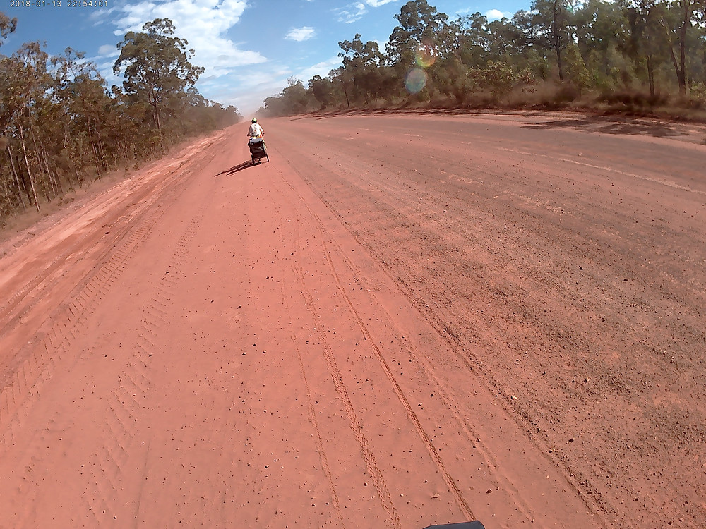 Can you see the corrugations