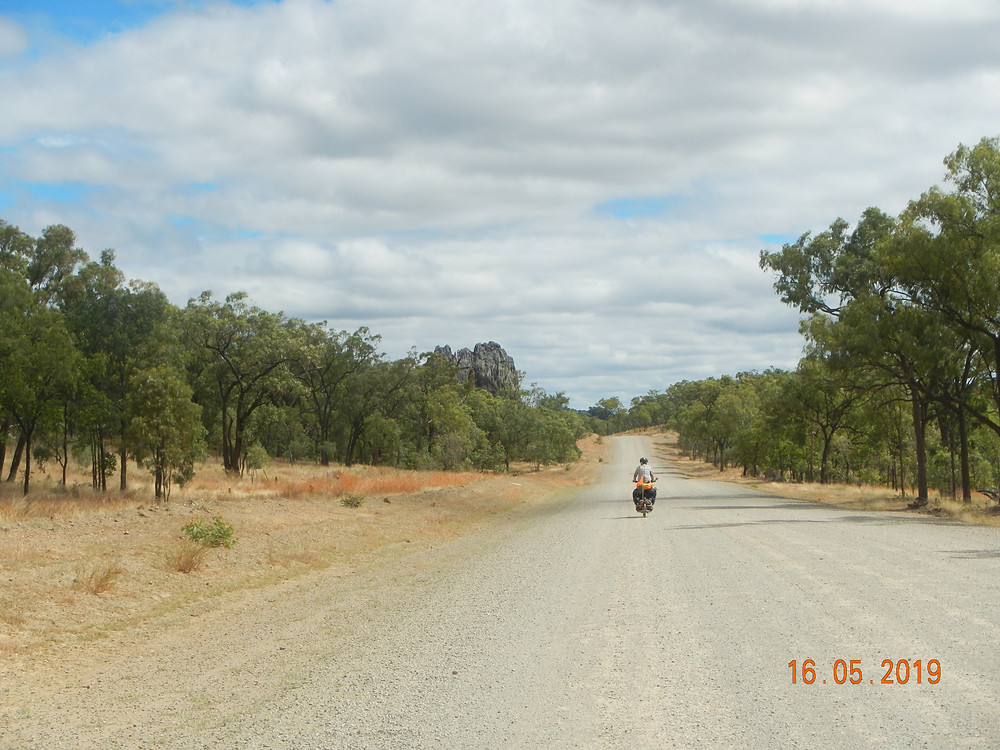 The road between Chillagoe and Walsh River