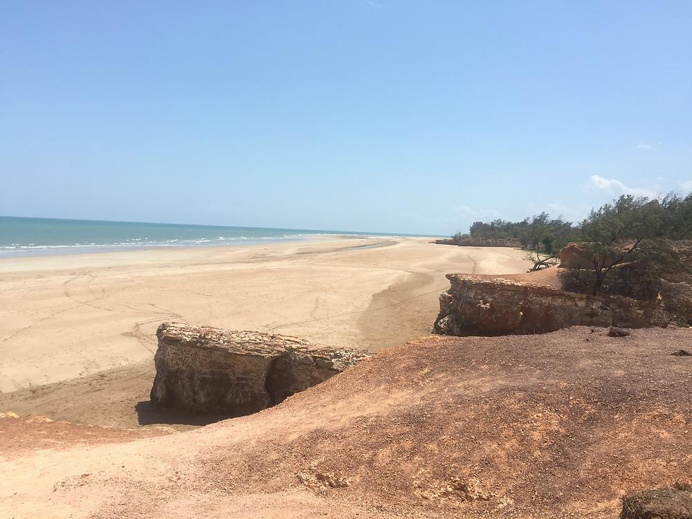 Rugged coastline of Darwin