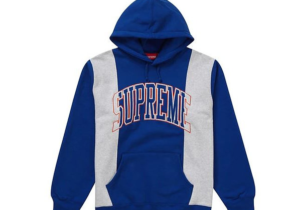 Supreme Paneled Arc Hooded Sweatshirt Royal