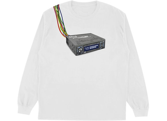 Travis Scott JACKBOYS Cord Cutters L/S T-Shirt White
