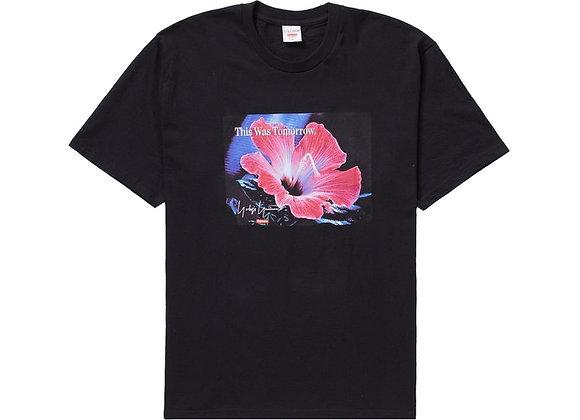 Supreme Yohji Yamamoto This Was Tomorrow Tee Black
