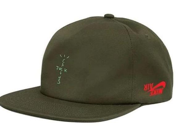 Travis Scott Jordan Cactus Jack Highest Hat Olive