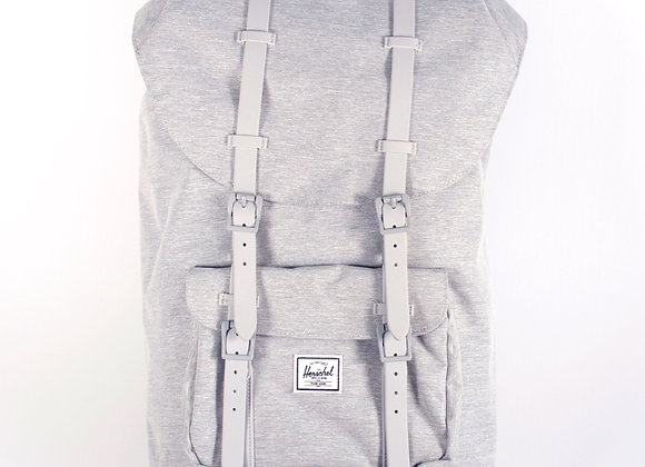 Herschel Supply Co.Little America Backpack Light Grey Crosshatch/Lime