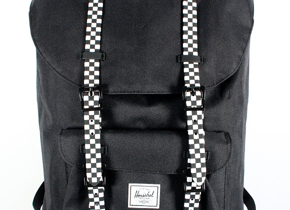 Herschel Supply Co. Little America Black & Checkerboard