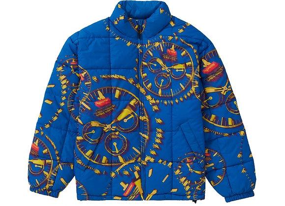 Supreme Watches Reversible Puffy Jacket Royal