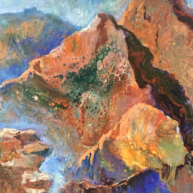 Colorful Colorado - Acrylic Pour