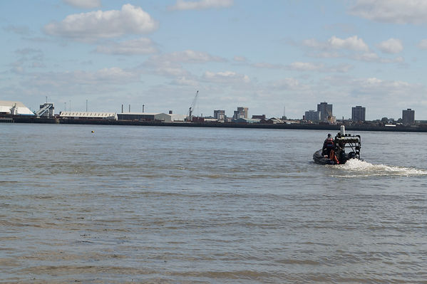 Safety Boat River Mersey