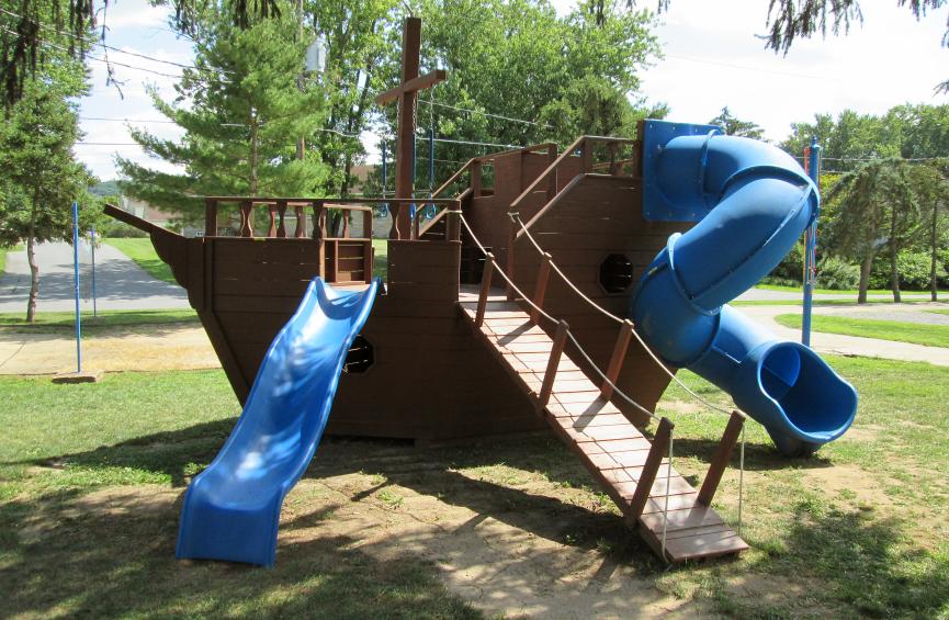 Playground Pirate Ship
