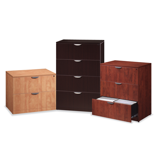 Lateral File - Wood