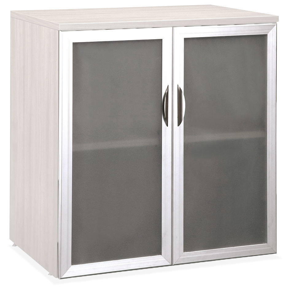 Storage Cabinet with Glass