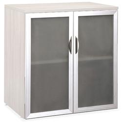 Storage Cabinet with Glass