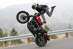 harley wheelies