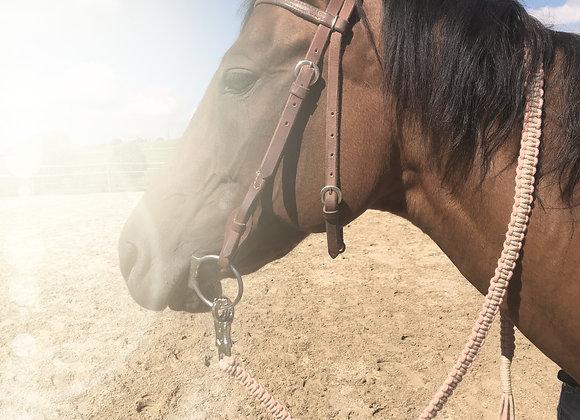 Makramee-Pferdestrick personalisierbar