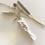 Thumbnail: Singletwist Garn 4mm - Weiß