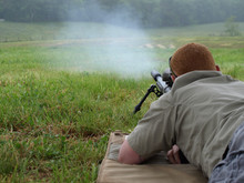 In Action on the Range