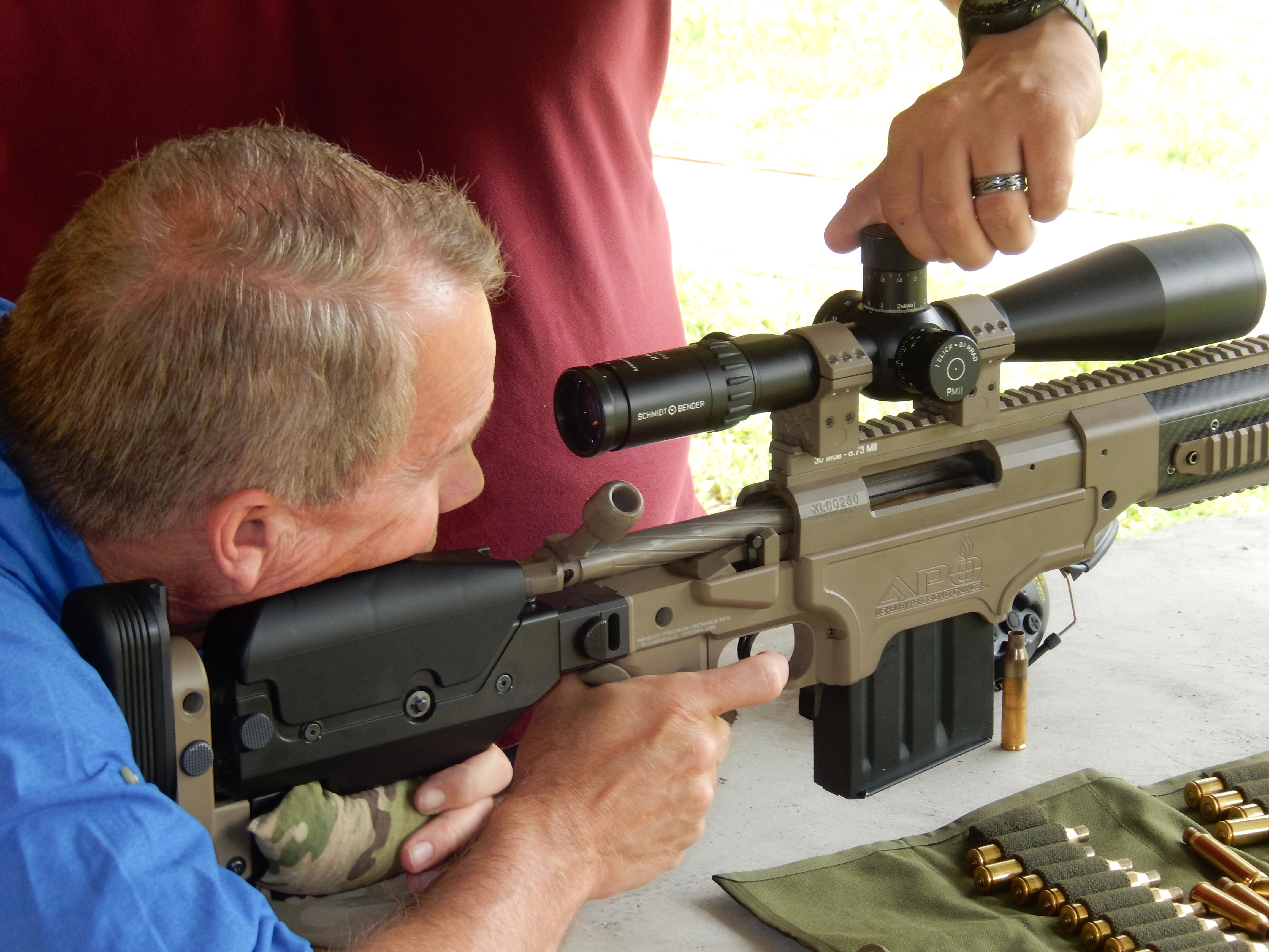 Extreme Long Range Shooting
