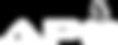 APO Logo White, 48px Tall, No Name Block