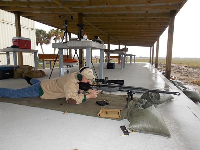 375CT Ultra Long Range Rifle
