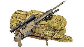 Folded Stock Allows Field Bag Storage