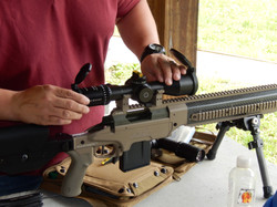 Instructor Helps Setup Rifle Optic