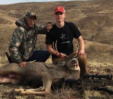 Junior Precision Rifle Team Member Harvests Deer at 475 Yards with APO 6.5CM SuperSport!
