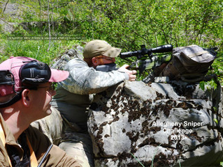 2013 Allegheny Sniper Challenge: Magnum Rifles, Short Barrels,  Heavy Bullets and Shifting Winds!