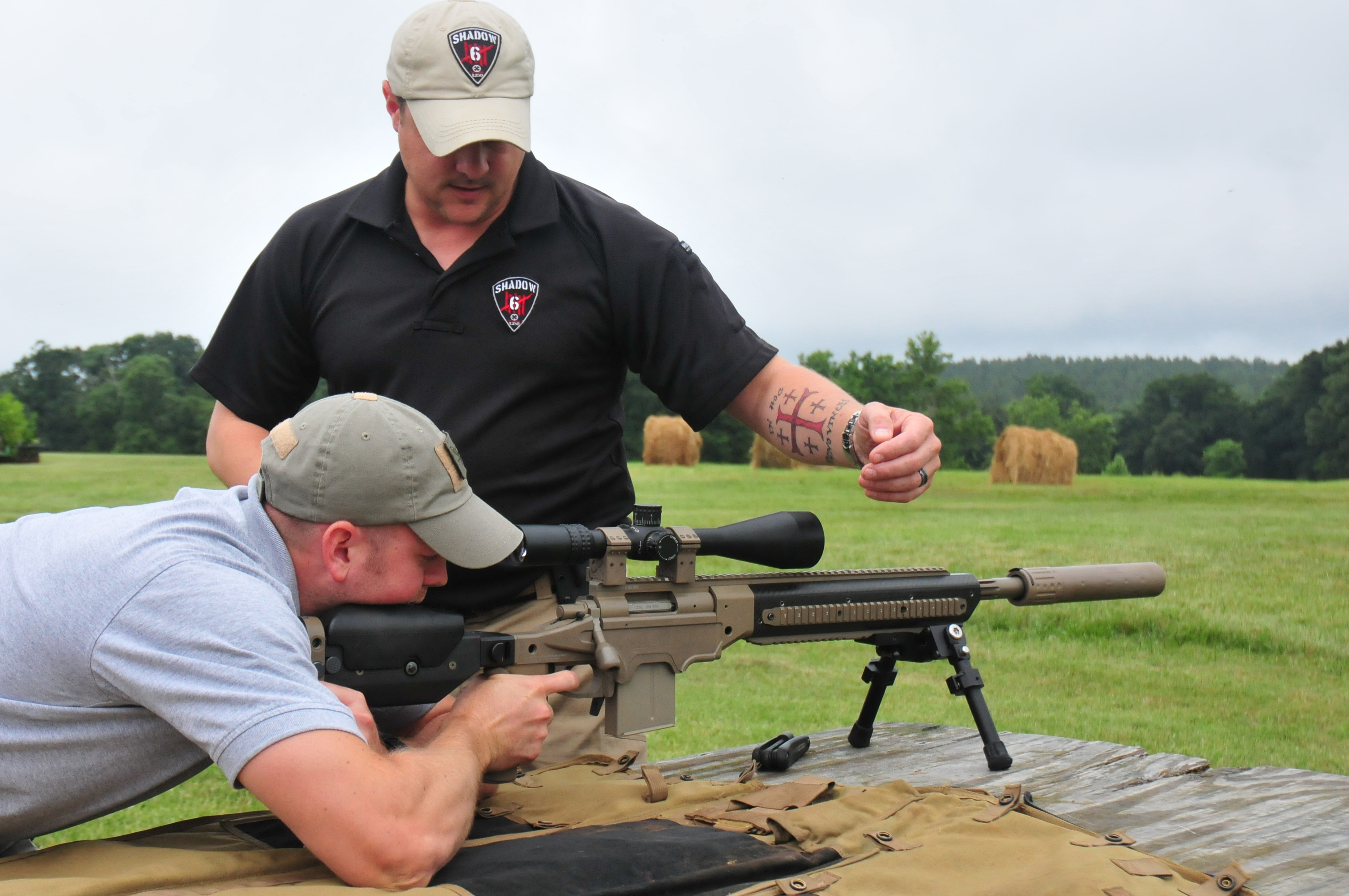 Precision Rifle Training On Scopes