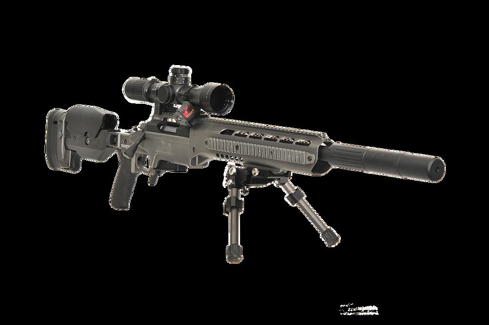 SPR-308K1 Quartering Front Shot, Bipod &
