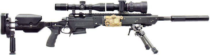 ASW-308 Stock Extended, Monopod Down, La