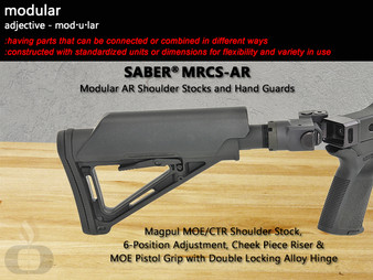 Anatomy of SABER Modular Rifle Chassis Systems