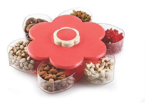 6 Container Candy Box, Dry Fruit Spice Pickle Container