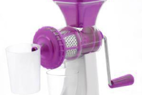 0168 Manual Fruit Vegetable Juicer with Juice Cup and Waste Collector